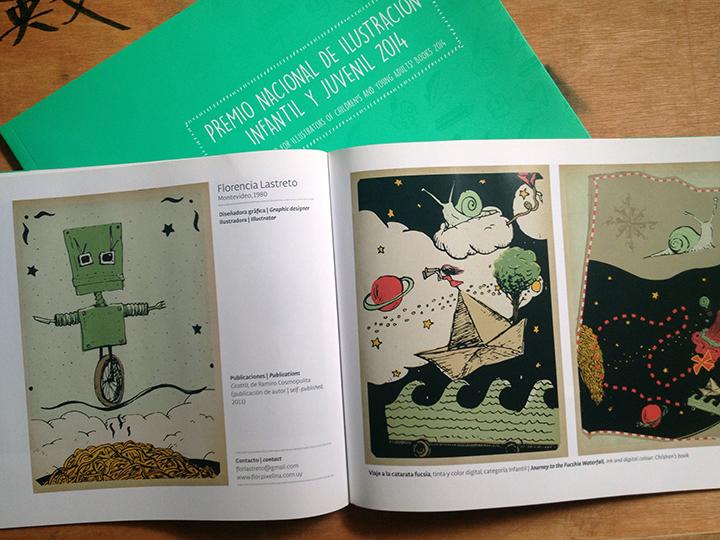 MEC - mención honorífica en el premio ilustración infantil y juvenil 2014