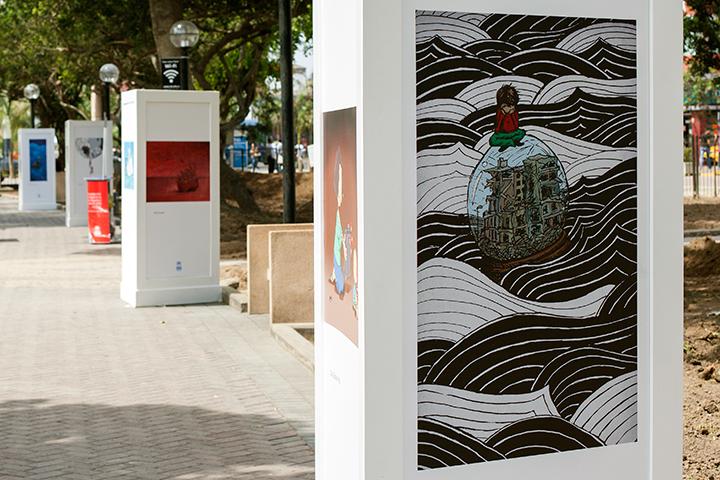 Exposición ACNUR protege en Lima